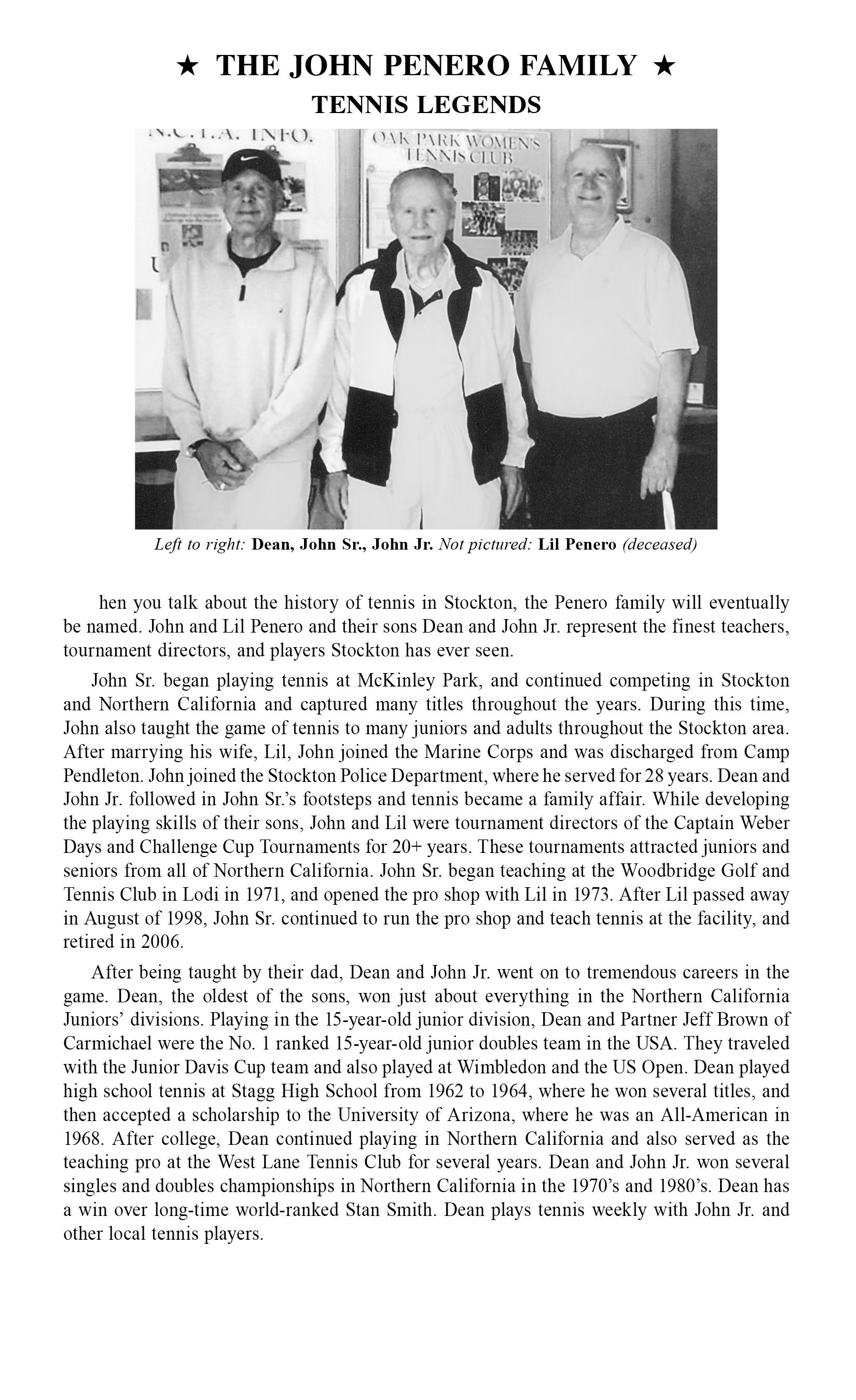 john penero family